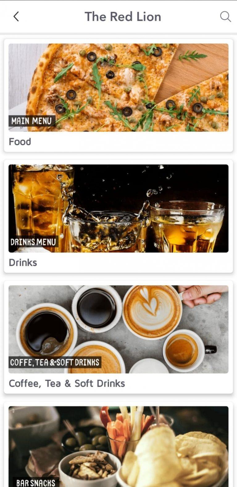Table Ordering App