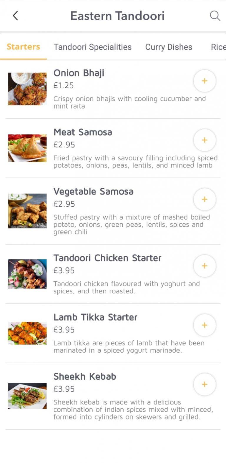 Ordery - Table Ordering App
