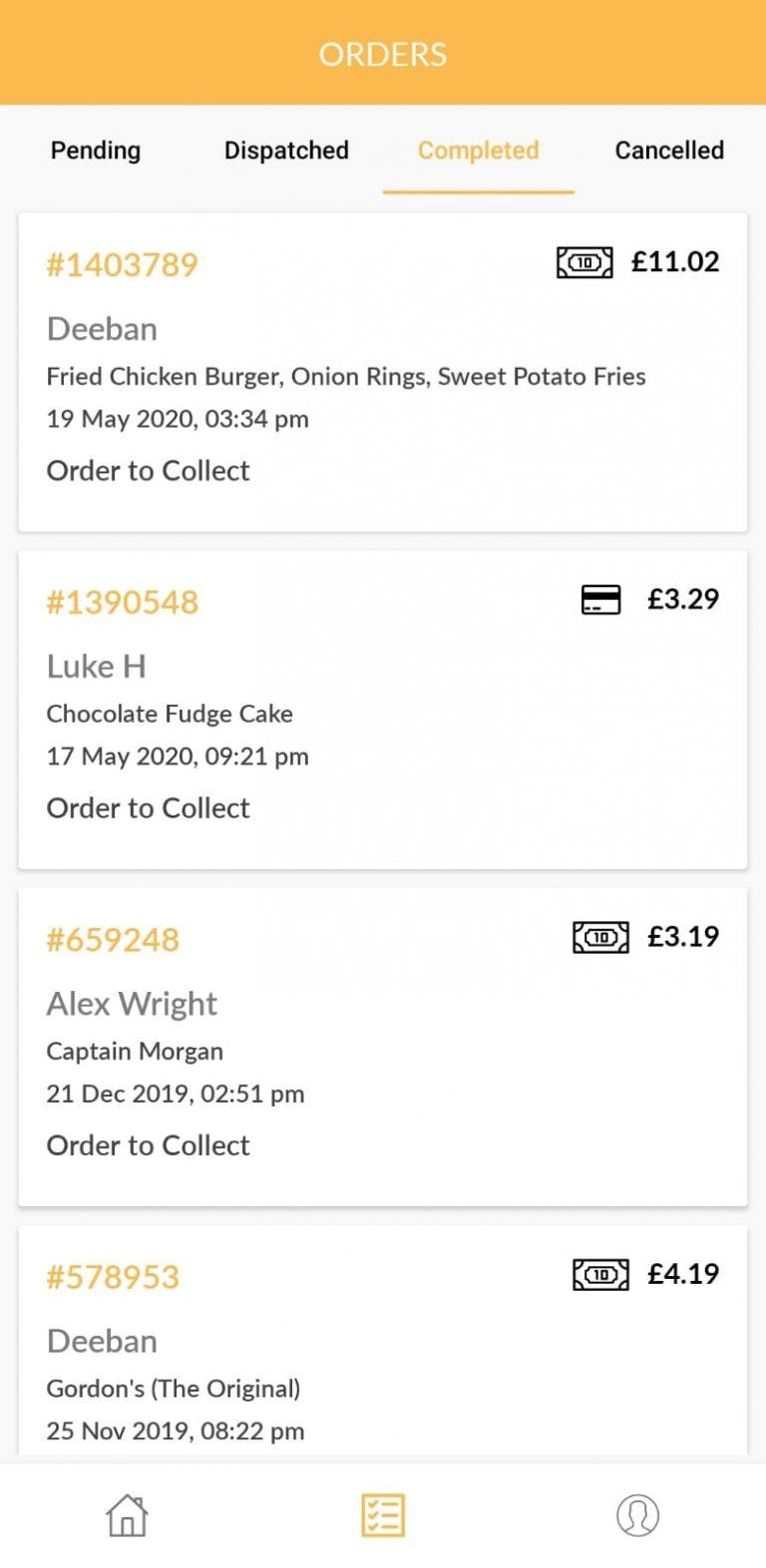 Ordery, Table Ordering App