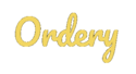 Ordery Logo Best Table Service App for Pubs and Hotels